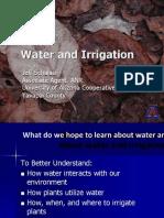 WaterandIrrigationforMasterGardeners