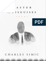 Master of Disguises by Charles Simic