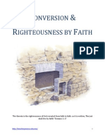Conversion & Righteousness by Faith
