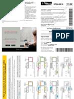 Arjun Louvre Ticket