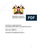 KENYA - Malaria treatment guidelines 2006