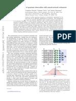 Precise Measurement of Quantum Observables with Neural-Network Estimators