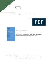 Resenha do livro Teoria social pós-moderna