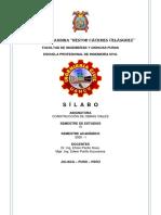 CONSTRUCCION DE OBRAS VIALES silabo