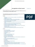 Portal de publicaciones científicas y técnicas