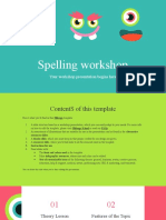 Spelling Workshop by Slidesgo.pptx