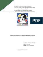 CONTEXTO POLÍTICO, JURÍDICO E INSTITUCIONAL