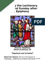 2nd Sunday after Epiphany