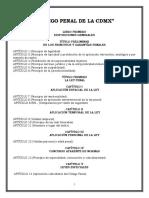 CÓDIGO PENAL PARA LA CDMX 2020