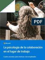 La psicología de la colaboración en el lugar de trabajo