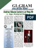 January 2011 Ring 50 Magi-Gram