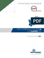 TECHNICAL CATALOGUE_VSF_IEC_STD_FR_rev0_2018