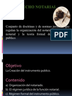 DERECHO NOTARIAL, CARACTERISTICAS, FUENTES Y RELACION CON OTRAS RAMAS (2)