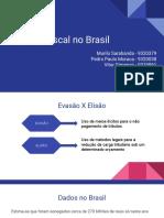 Evasão Fiscal no Brasil - Murilo,Pedro Paulo e Vitor Gimenez