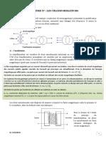 Chapitre 4 cours sur l'electromagnetisme