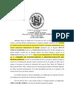 Medida-requisitos Sentencia TSJ Venezuela
