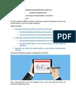 DECLARACIONES QUE DEBEN SER FIRMADAS POR REVISOR FISCAL