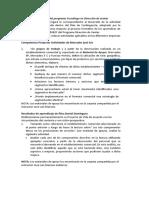 Actividad integradora del programa Tecnólogo en Dirección de ventas