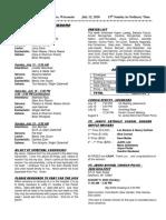 Bulletin 7-12-20