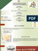 Corporación del Seguro de Depósitos(COSEDE)