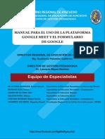 Manual Meet y Formularios Google