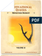 Motivational Quotes Reflection Booklet Volume 2