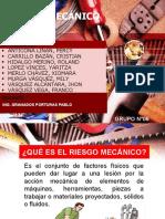 RIESGO MECANICO EXPOSICIÓN