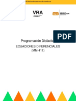 ProgramacionDidactica-II-PAC-2020-Ecuaciones Diferenciales-MM-411