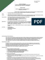 BSED- Major Math-Sample