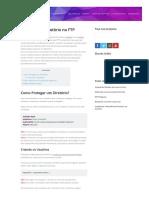Proteção de Diretório no FTP - Central de Ajuda com Tutoriais e Informações Hostnet