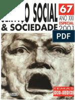 Revista Serviço Social e Sociedade nº 67 2001