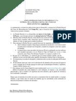 INDICACIONES GENERALES DE LA EVALUACION PARCIAL DEL CURSO DE MER11804