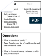 Ch11 Cost of Quality
