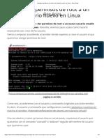 Otorgar permisos de root a un usuario nuevo en Linux - Alex Ariza