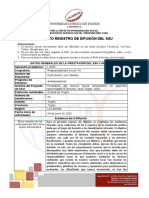 FORMATO REPORTE DE DIFUSION... RUTH