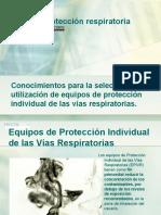 Curso de protección respiratoria