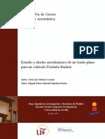 PFC Jose Luis Mateos Estudio y Diseño de un fondo plano para un vehiculo Formula Student