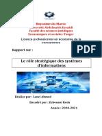 le rôle stratégique des systèmes d'informations.docx