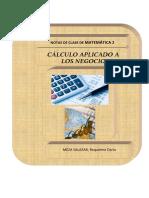 Notas de Clase 2 Cálculo Aplicado a los Negocios.pdf