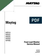 Manual Lavadora MFR 18 25 35 50 80 Service