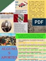 INFOGRAFÍA- INFLUENCIA DE LOS INGLESES EN EL PERÚ