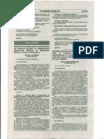 MODIFICAN LINEAMIENTOS Y PROCEDIMIENTOS PARA CONCURSO PÚBLICO PARA NOMBRAMIENTO DE PROFESORES 2009, I NIVEL DE CARRERA PÚBLICA MAGISTERIAL DE LA LEY Nº 29062