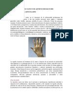 Sintomas articulares AR