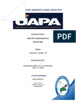 Tarea - 6- Practica Profesional
