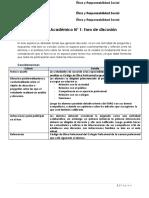 Producto Académico N° 1  - FORO-Asig.  ÉTICA Y RESPONSABILIDAD SOCIAL (1)