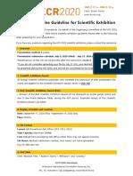 KCR 2020 Guideline for Scientific Exhibition