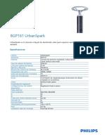 Ficha Tecnica - Bgp161 Urbanspark (Luminaria Solar - Proyecto Unjbg)