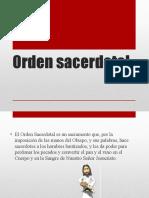 Orden sacerdotal