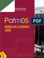 MANUAL DEL ESTUDIANTE  PATMOS 2020.