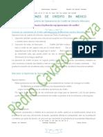 Operaciones de Crédito En Mexico